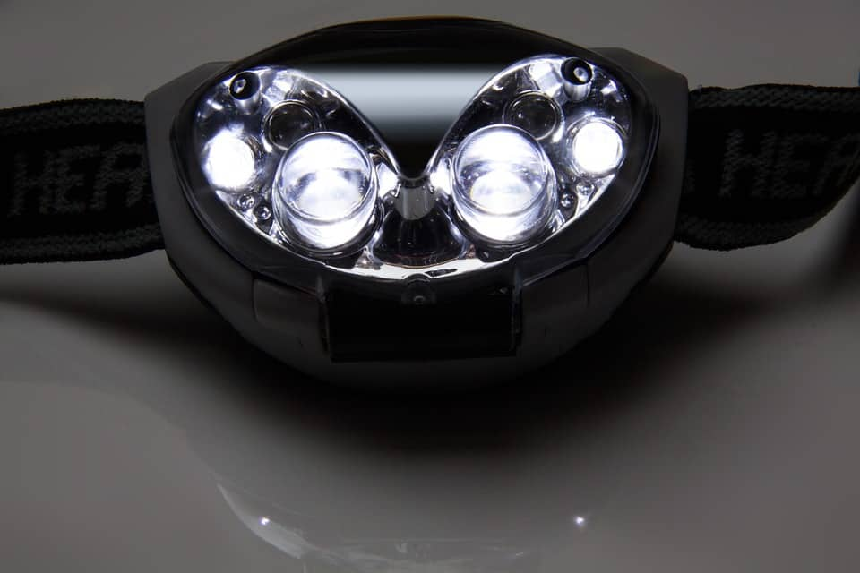 Stirnlampe Licht