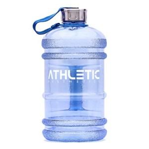 Wasserflasche für den Sport mit Band zum tragen