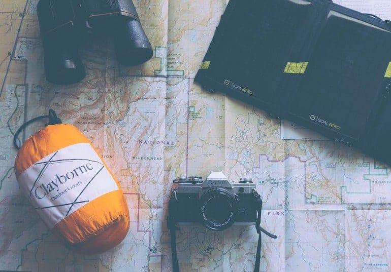 Schlafsack-Reisen