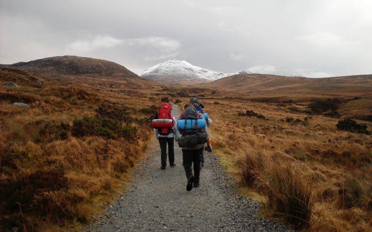 Backpackerrucksack zum Wandern
