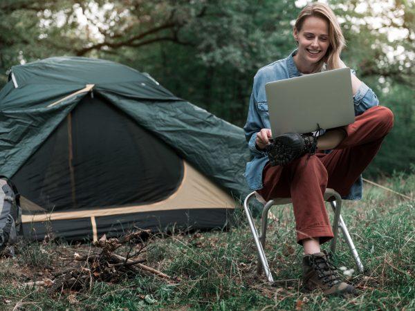 Camping Sat Anlage