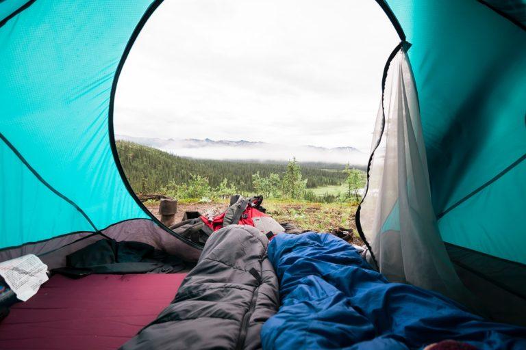 Hüttenschlafsack aus Seide-2