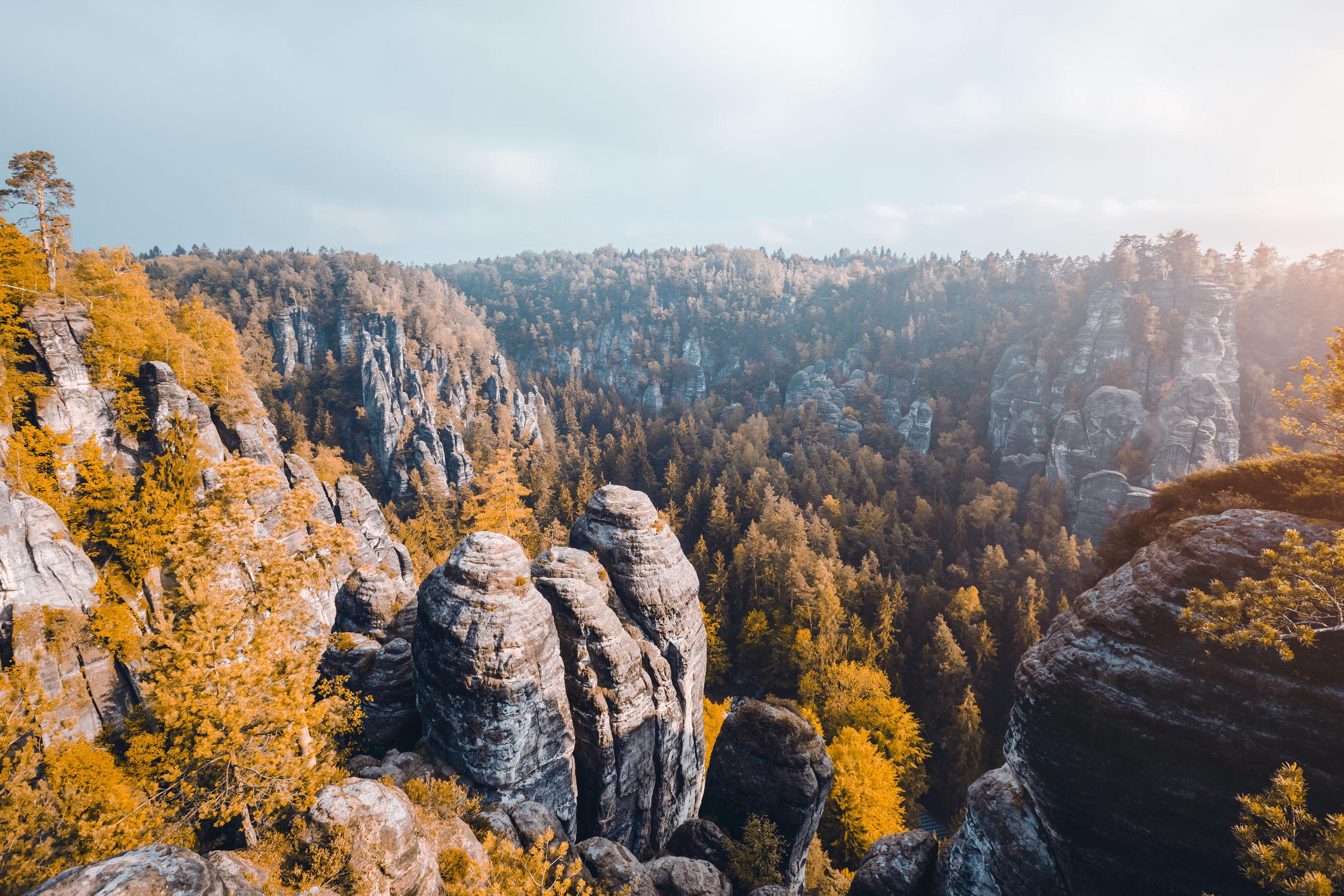 Elbsandsteingebirge: Die Highlights auf der Karte
