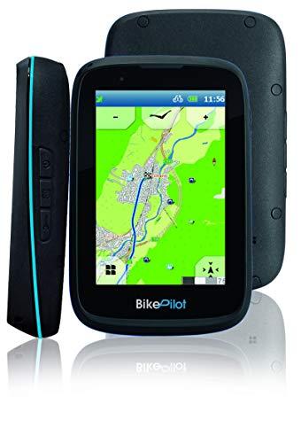 BikePilot ²+ Blaupunkt Fahrrad,Fahrradnavi, Wander,Outdoor GPS Navigationsgerät,3,5 Zoll kapazitives Display,45 europäische Länder,Rundkursfunktion,elektronischer Kompass,Geocaching,Fahrradhalterung