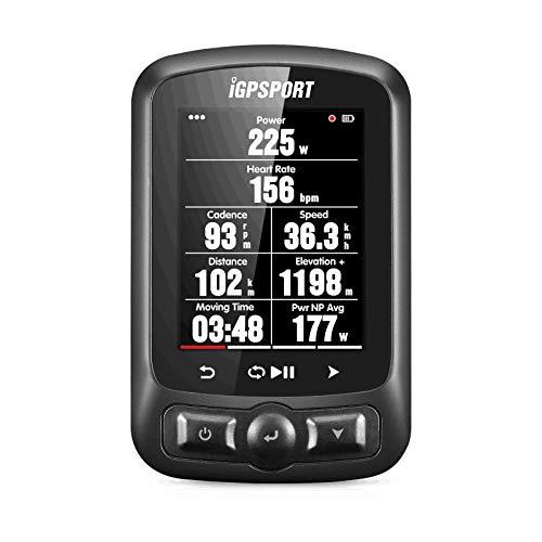 Fahrradcomputer GPS iGPSPORT iGS620 Kartennavigation Drahtloser wasserdichter Fahrradcomputer Kompatibel mit ANT+ oder Bluetooth Sensoren(Unterstützung Anzeige in Deutsch)