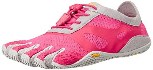Vibram FiveFingers 16W0703 KSO Evo, Outdoor Fitnessschuhe Damen, Mehrfarbig (Pink/grey), 37 EU